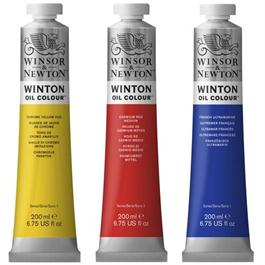 Winsor & Newton Winton Oil Paint 200ml Tube Thumbnail Image 1