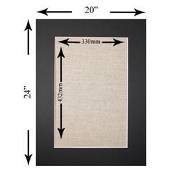 24 x 20 inch Rectangular Mount Thumbnail Image 0
