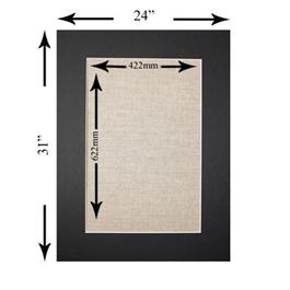 31 x 24 inch Rectangular Mount thumbnail