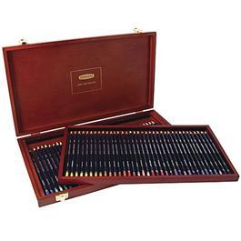 Derwent Studio Pencils Wooden Box of 72 Thumbnail Image 0