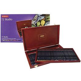 Derwent Studio Pencils Wooden Box of 72 Thumbnail Image 2
