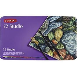 Derwent Studio Pencils Tin of 72 thumbnail