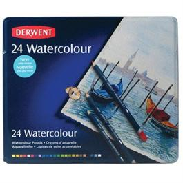 Derwent Watercolour Pencils Tin of 24 thumbnail