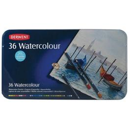 Derwent Watercolour Pencils Tin of 36 thumbnail