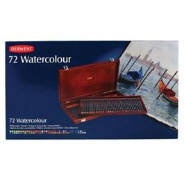 Derwent Watercolour Wooden Box of 72 Thumbnail Image 1