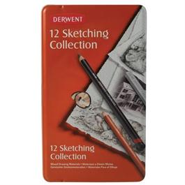 Derwent Sketching Collection 12 Tin thumbnail