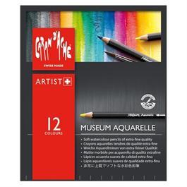 Caran d'Ache Museum Aquarelle Pencils - 12 Assorted Set thumbnail