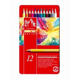 Supracolor Soft Tin of 12 Pencils thumbnail