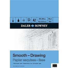 Daler Rowney A2 Smooth Drawing Pad 96gsm thumbnail