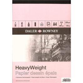 Daler Rowney Smooth Heavyweight Cartridge Pad A4 thumbnail