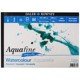A3 Aquafine Watercolour Pad Smooth Surface 300gsm thumbnail