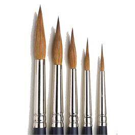 Winsor & Newton Artists' Water Colour Sable Brush - Pointed Round thumbnail
