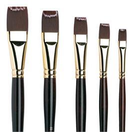Galeria Long Handled Brushes - Short Flat thumbnail