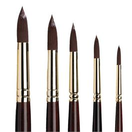 Galeria Short Handled Brushes - Round thumbnail