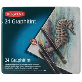Derwent Graphitint Pencils Tin of 24 thumbnail