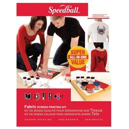 Speedball Super Value Fabric Screen Printing Kit thumbnail