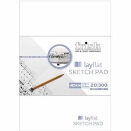Frisk Layflat Sketch Pads 300gsm Thumbnail Image 0