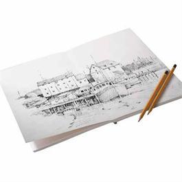 Frisk Layflat Sketch Pads 300gsm Thumbnail Image 1