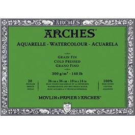 Arches Aquarelle Water Colour Blocks Cold Pressed140lbs / 300gsm  thumbnail