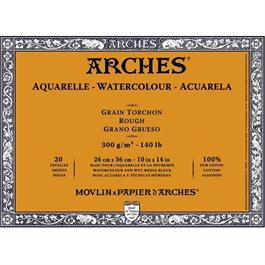 Arches Aquarelle Water Colour Blocks Rough 140lbs / 300gsm  thumbnail