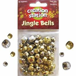 Creation Station Silver & Gold Jingle Bells thumbnail