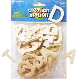 Creation Station Capital Wooden Letters thumbnail