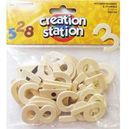 Creation Station Wooden Numbers & Symbols thumbnail