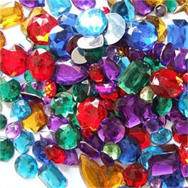 Acrylic Gemstones, Assorted  (Approx 400) Thumbnail Image 2