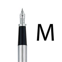 Townsend Lustrous Chrome Fountain Pen With MEDIUM Nib thumbnail