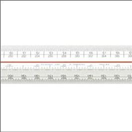 300mm Verulam Triangular Scale Rule Metric A thumbnail