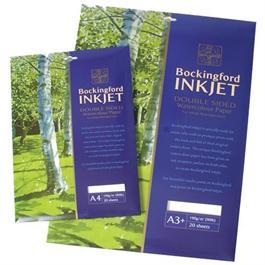 Bockingford Inkjet Paper 190gsm Pack of 20 Sheets thumbnail