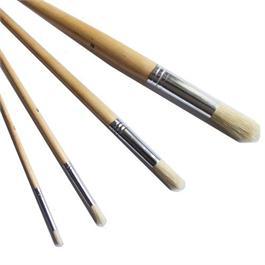 Loxley Short Handled Hog Brush Round Size 8 thumbnail