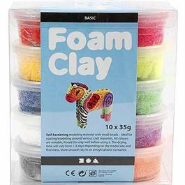 Foam Clay 10 x 35g Basic Set Thumbnail Image 0