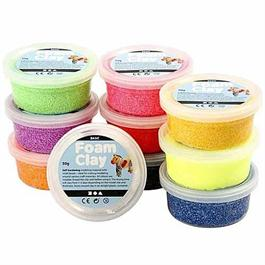 Foam Clay 10 x 35g Basic Set Thumbnail Image 1