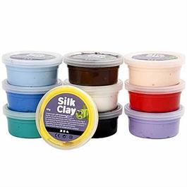 Silk Clay 10 x 40g Set Thumbnail Image 1