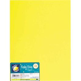 "Funky Foam Sheet 9x12"" Yellow thumbnail"