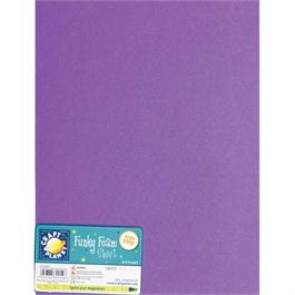 "Funky Foam Sheet 9x12"" Purple thumbnail"