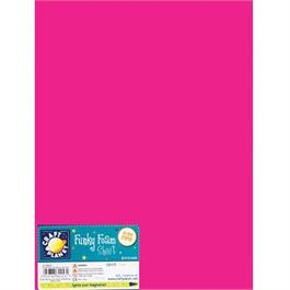 "Funky Foam Sheet 9x12"" Fuschia thumbnail"