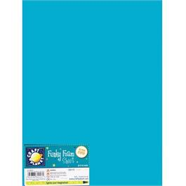 "Funky Foam Sheet 9x12"" Light Blue thumbnail"