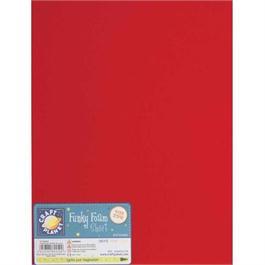 "Funky Foam Sheet 12x18"" Red thumbnail"