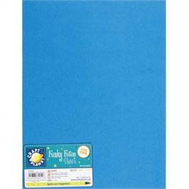 "Funky Foam Sheet 12x18"" Blue thumbnail"