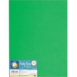 "Funky Foam Sheet 12x18"" Green thumbnail"
