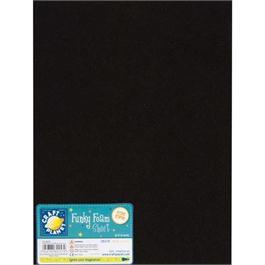 "Funky Foam Sheet 12x18"" Black thumbnail"