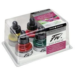 Daler Rowney FW Ink Primary Colours 6 Set thumbnail