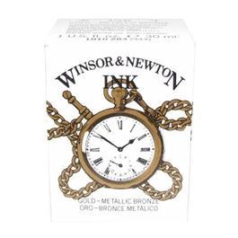 Winsor & Newton Drawing Ink 30ml Gold Thumbnail Image 1