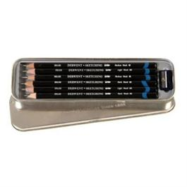 Derwent Watersoluble Sketching Pencils Tin of 6 thumbnail