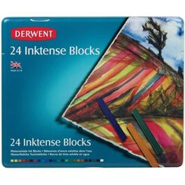 Inktense Block Tin of 24 Thumbnail Image 0