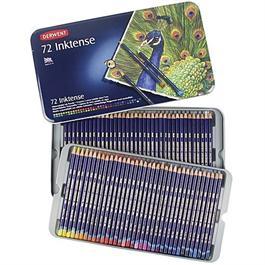 Derwent Inktense Pencils Tin of 72 Thumbnail Image 1