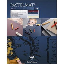 Clairefontaine Pastelmat Pad - Light Blue, Dark Blue, Sand, Lie De Vin thumbnail