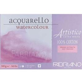 Fabriano Artistico Water Colour Blocks Extra White 140lbs 'HP' thumbnail